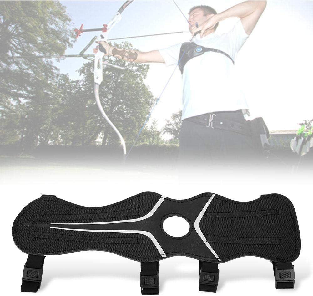 Protection Tir s/écuritaire Chasse Prot/éger Engrenages Garde R/églable Nylon Archery Arm Band Protector Avant-Bras Zer one Garde de Bras de tir /à larc