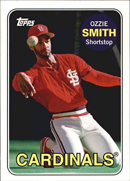 2010 Topps Vintage Legends Collection Vlc9 Ozzie Smith