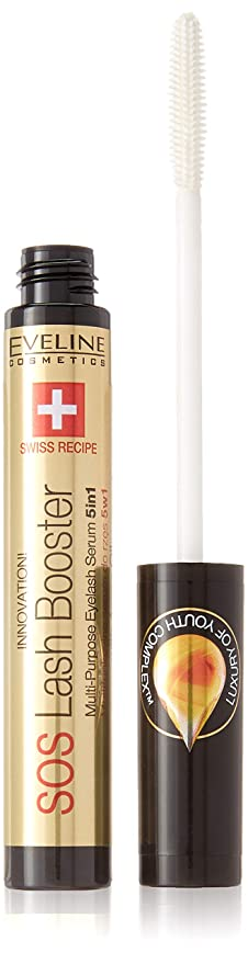 2a318b3ec92 SOS Lash Booster Multi-Purpose Eyelash Serum 5in1 10ml: Amazon.co.uk ...