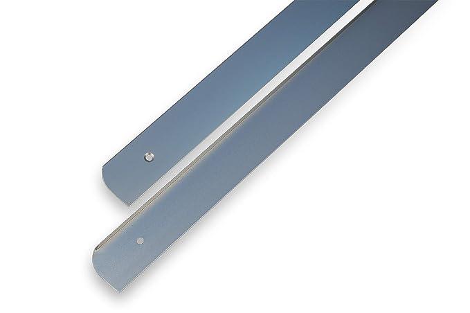 Ángulo de Perfil Moldura Lateral Barra, aluminio encimera cocina endeleiste L + R 28 mm: Amazon.es: Bricolaje y herramientas