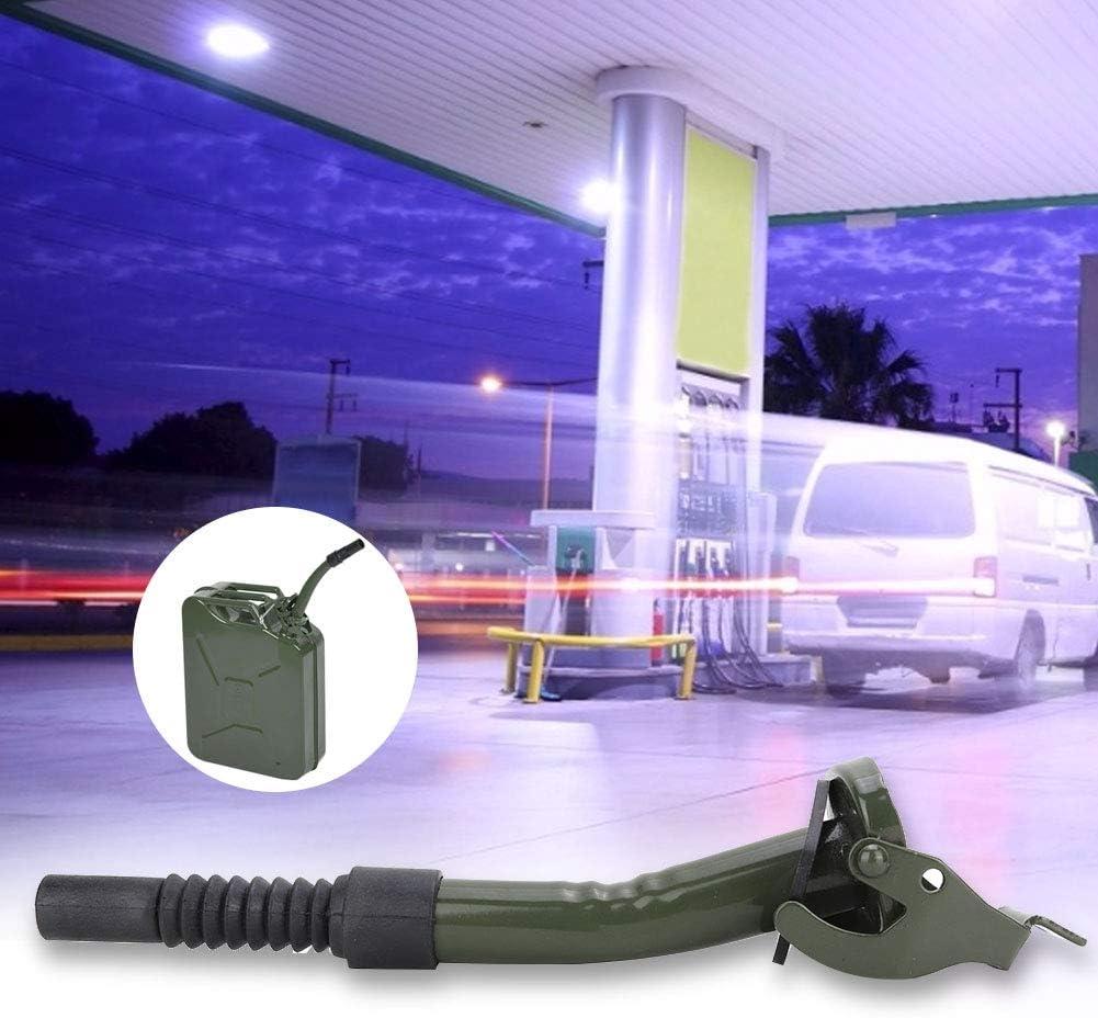oueaen Bec verseur Remplacement de Bec verseur de Carburant pour huileur en Acier au Carbone Portable pour bidon de Carburant JC5MR//JC10//JC20
