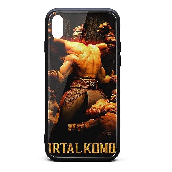 Amazon com: Goro-Mortal-Kombat- Phone Case for iPhone Xs MAX