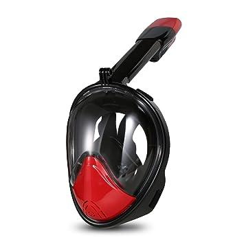 Hicool Máscara de buceo, 180 grados de vision mascara de buceo con el diseño de