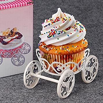 Buy Generic New Muffin Cupcake Pastry Baking Metal Wheel Stand Ice Cream Cake Display Wedding Birthday Party Decorating European Style Online At Low Prices