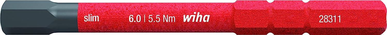 Wiha 2831-18 SW 2.0x75 slim-Vario VDE Wechselbit//keine Slim-Version
