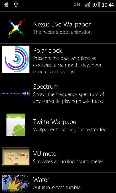 Amazon Com Nexus Live Wallpaper Appstore For Android