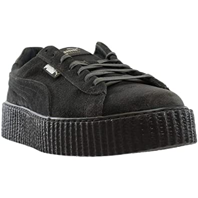 PUMA Mens Fenty by Rihanna RiRi Gray Creeper Velvet 36463903