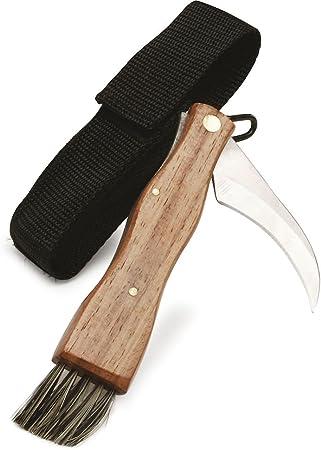 Sagaform Forest Mushroom/Truffle Knife with Canvas Case