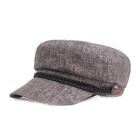 Wimagic 1 x Sombrero de algodón Lino Unisex Gorras étudiantes ...