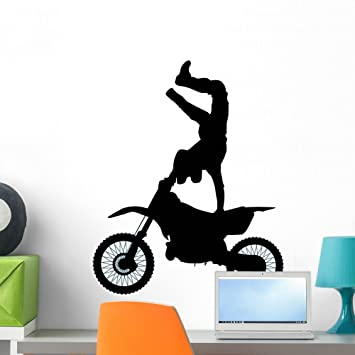 Amazon.com: wallmonkeys wm247998 Motocross-8 Peel and Stick ...