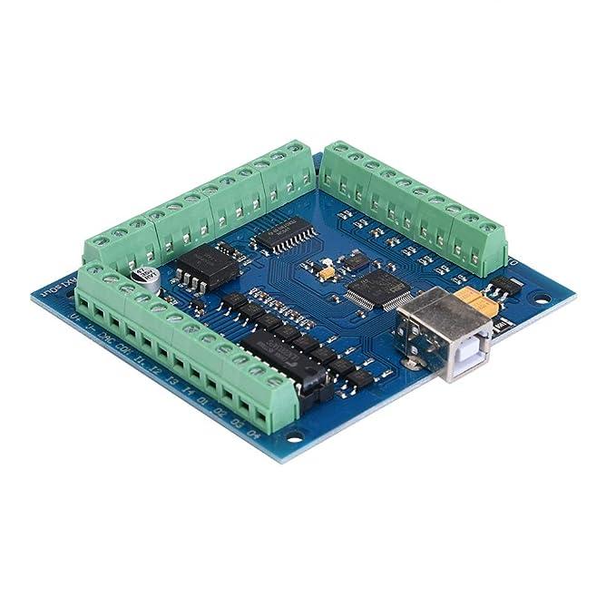 Amazon.com: MACH3 - Tarjeta de movimiento de 4 ejes USB CNC ...