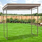 Flat Roof Grill Gazebo Replacement Canopy Top Cover – RipLock 350 Review