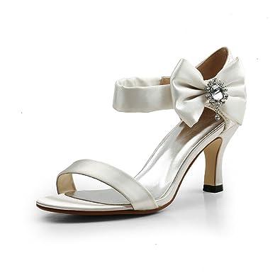 Evening Dress Sandal Ivory