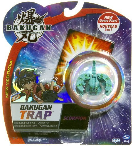 Bakugan Trap - Scorpion - Marble Color Varies
