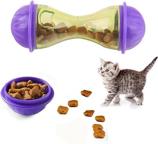 Behavetw Comedero para Mascotas, dispensador de Comida para ...