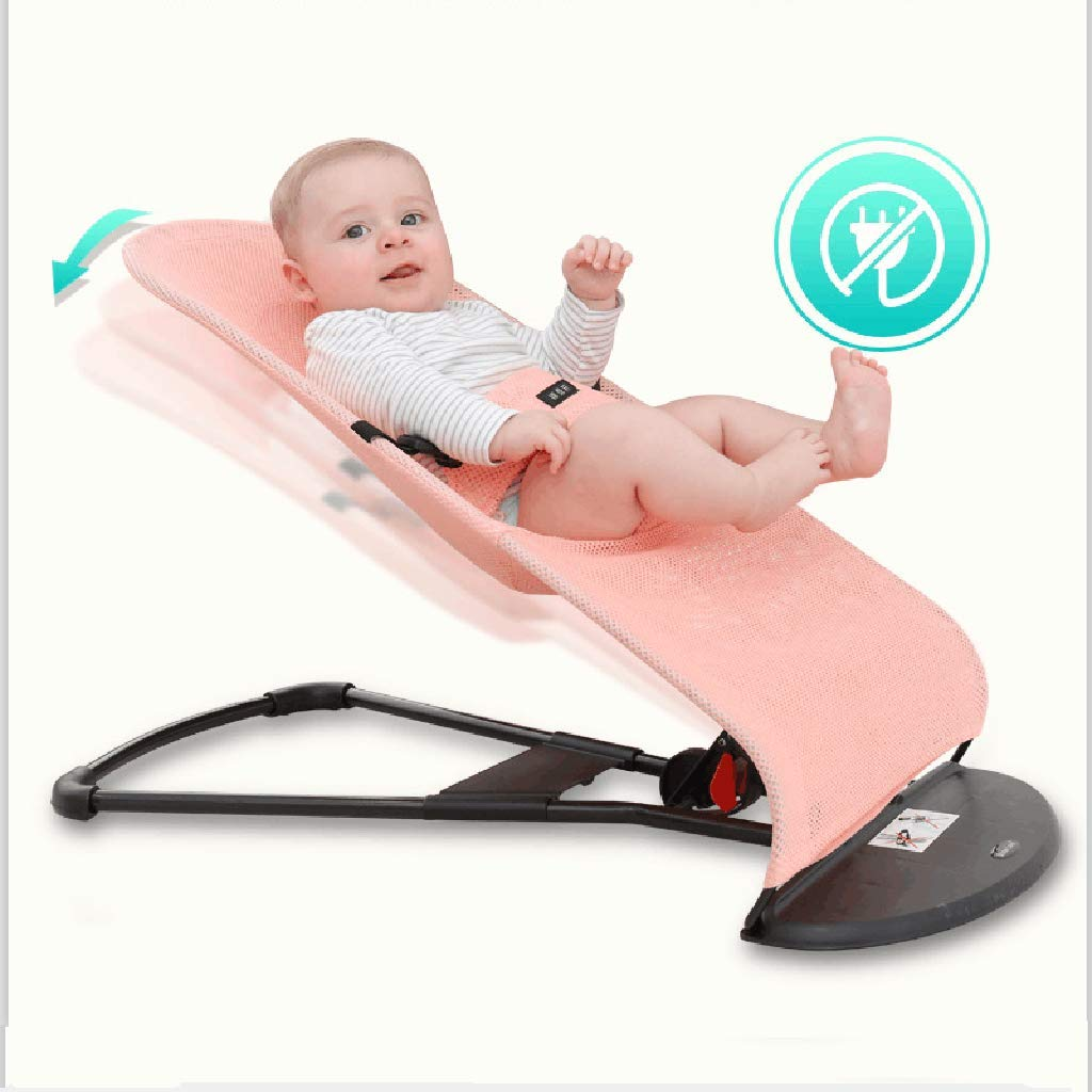 Bouncer Balance Soft, Baby Chair The Children's Bouncing Cradle (4 colors, Mesh) (Color : C) by BB Swings (Image #3)