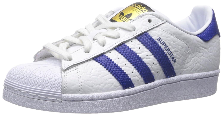 Adidas Superstar 2 Hvit Kollegialt Rød Kongeblå 1MEayK