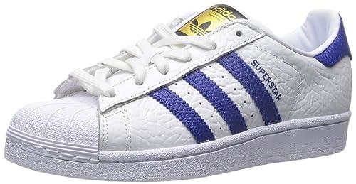 super popular 0167e 43ddc adidas Originals Men s Superstar Animal Shoe,White Collegiate Royal Gold,11  M