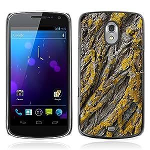 Print Motif Coque de protection Case Cover // M00155409 Árbol de madera de la corteza Liquen // Samsung Galaxy Nexus GT-i9250 i9250
