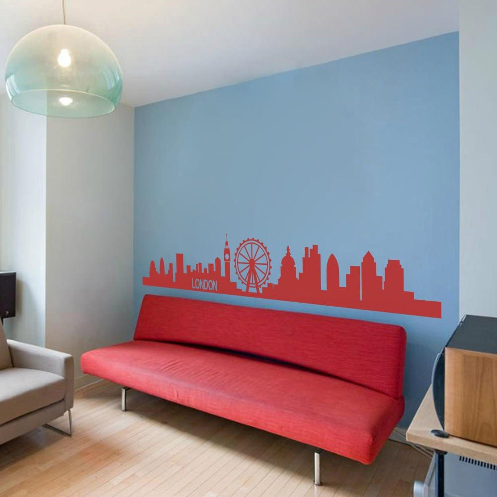 Amazon.com: Skyline de Londres Arte de Pared Vinilo ...