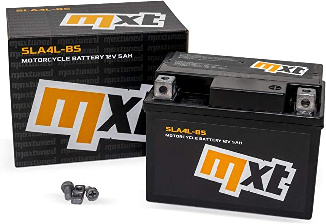 Batterie 12v 5ah Sla4l Bs Rollerbatterie Wartungsfrei Versiegelt Und Vorgeladen ähnlich Ytx5l Bs Yb4l B Ytx4 Bs Auto