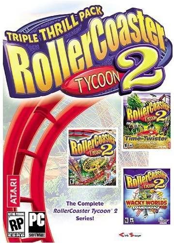 Amazon com: Rollercoaster Tycoon 2: Triple Thrill Pack