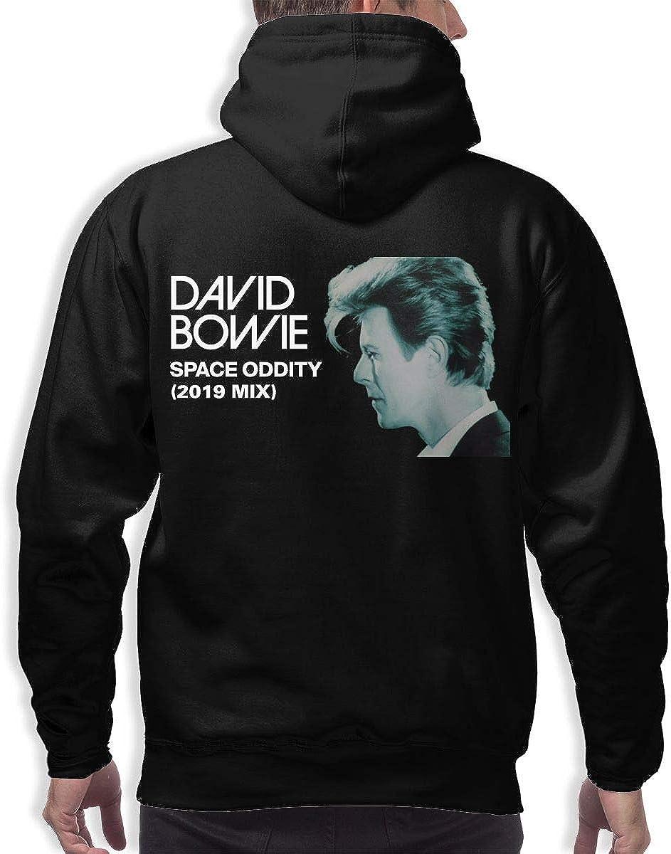 NATHANDAVISON David Bowie Space Oddity 2019 Mix Sports 3D Printed Hip Hop Pullover Mans Hooded Sweatshirt
