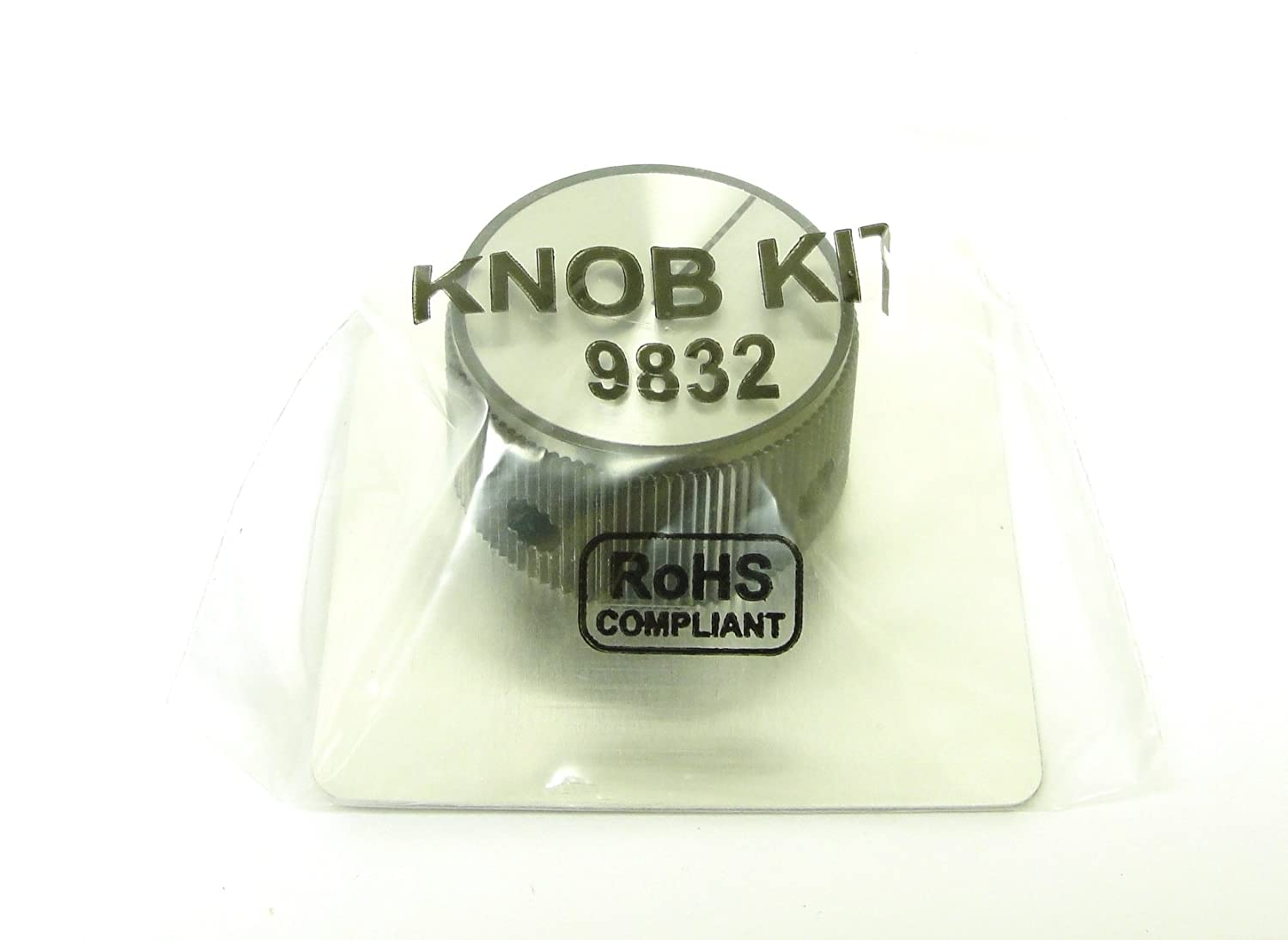 KB Electronics 9832 - Knob and Dial Kit - Large Dial Plate
