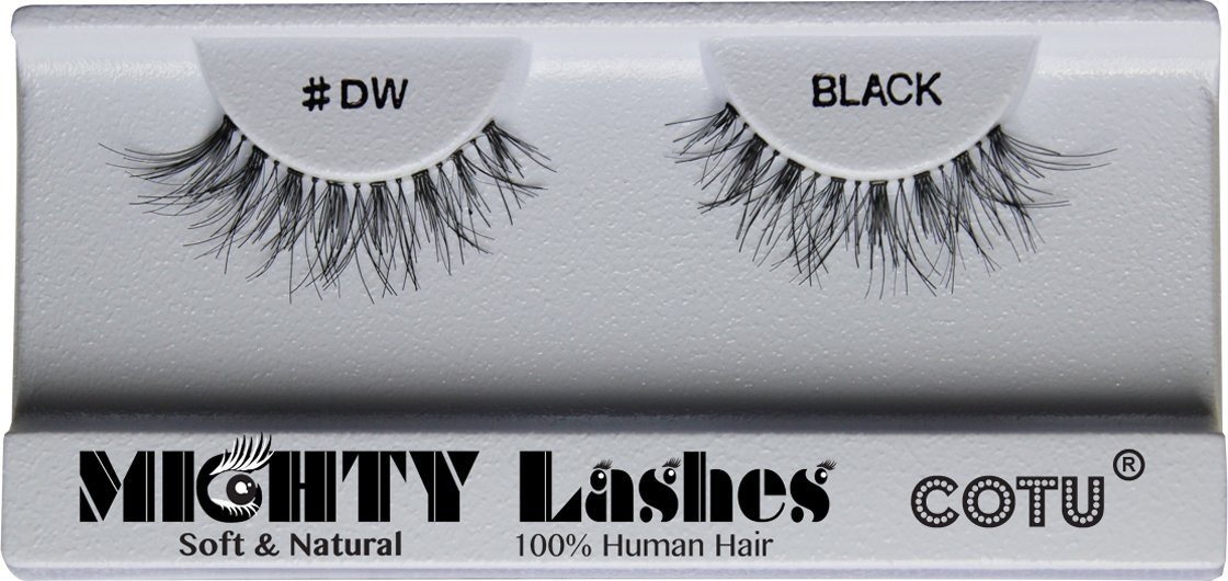 Amazon 6 pairs of mighty lashes by cotu dw false eyelashes amazon 6 pairs of mighty lashes by cotu dw false eyelashes 100 human hair fake eyelashes and adhesives beauty pmusecretfo Image collections