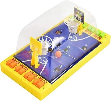 SummerRio Juego de Mesa Doble para Personas Catapultando Mini Baloncesto Interactivo Dedo Juguete Juegos de Mesa: Amazon.es: Juguetes y juegos