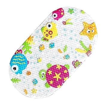 Topsky Baby Non slip Bath Mat Anti Bacterial Bathtub Mat  Shower Mat 27 quot. Amazon com  Topsky Baby Non slip Bath Mat Anti Bacterial Bathtub