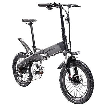 cyrusher directa XF500 20 inch adulto Unisex Mini plegable bicicleta eléctrica plegable ebike ciudad bicicleta 7