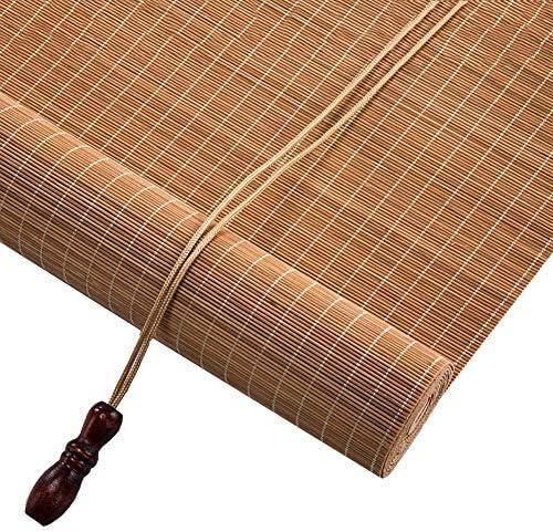 Estores Enrollables Persianas Exteriores Enrollables de Bambú Para Puertas de Ventana, Persianas Enrollables de Bambú para Exteriores para Jardín Patio Pérgola Balcón Porche, 80/100/120/140 cm de Anch: Amazon.es: Hogar