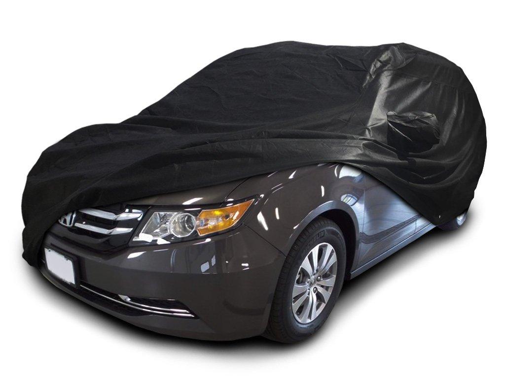 CarsCover Custom Fit 2005-2019 Honda Odyssey Mini Van Car Cover Xtrashield Minivan Black