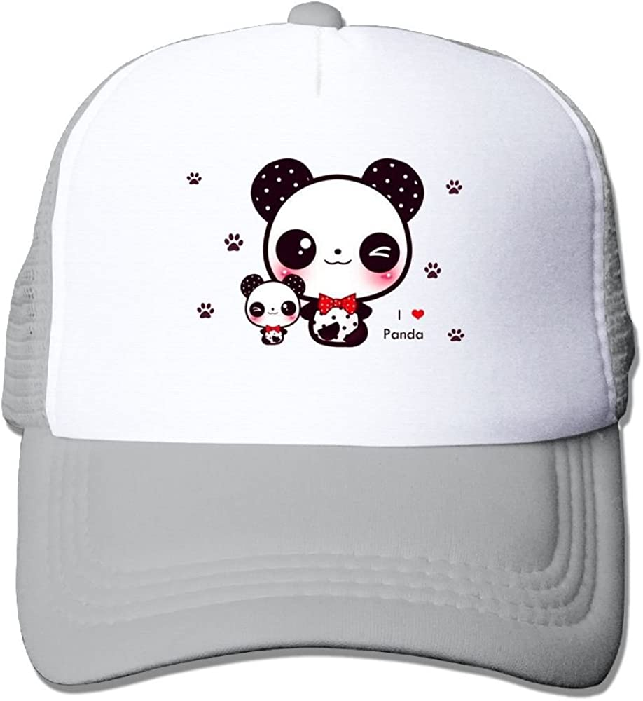FeiTian Panda Bear Available Baseball Caps For Men Casual Great For Sports Running Snapback Hats