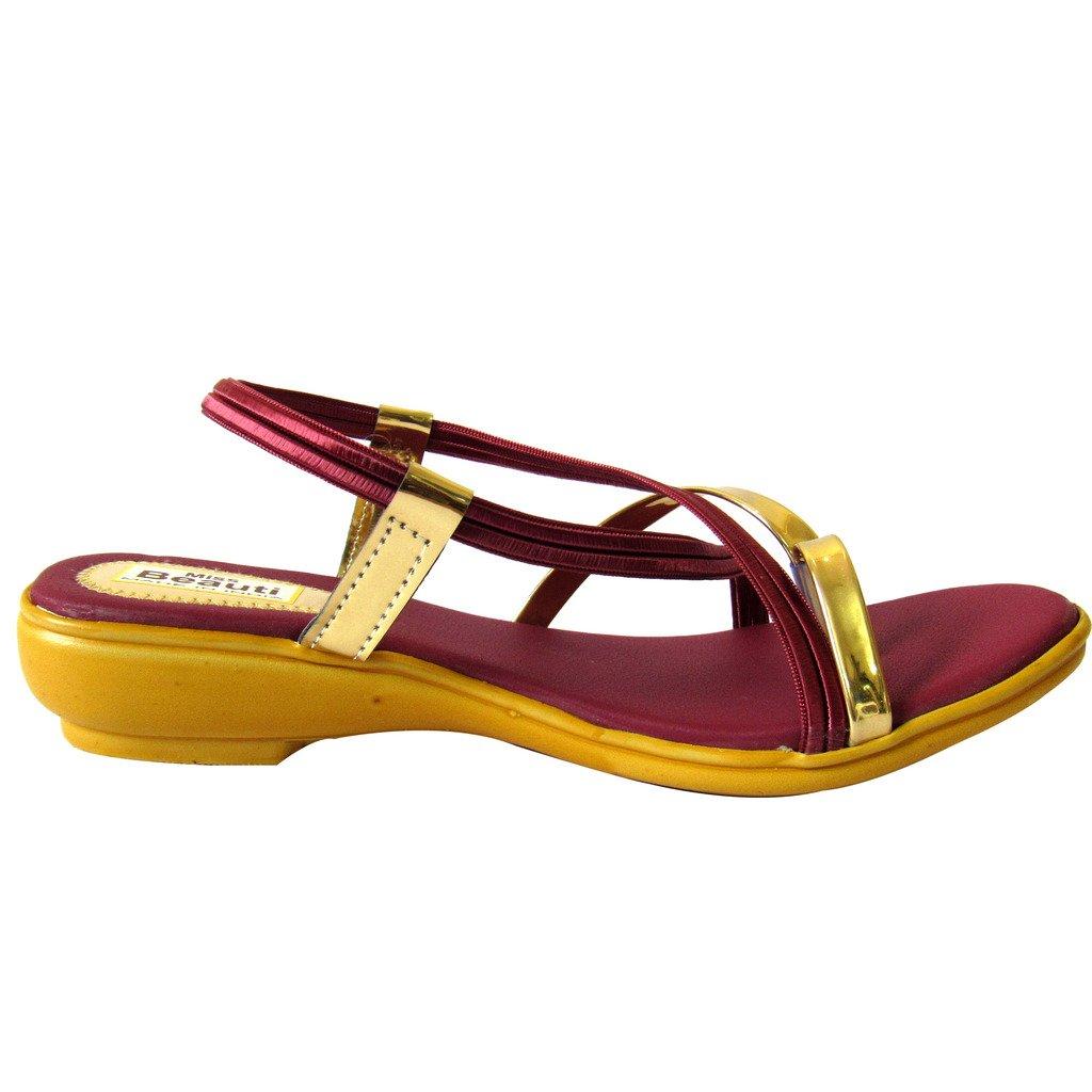 2f7827a7893c3 BFM Miss Beauty Chappals   Sandals