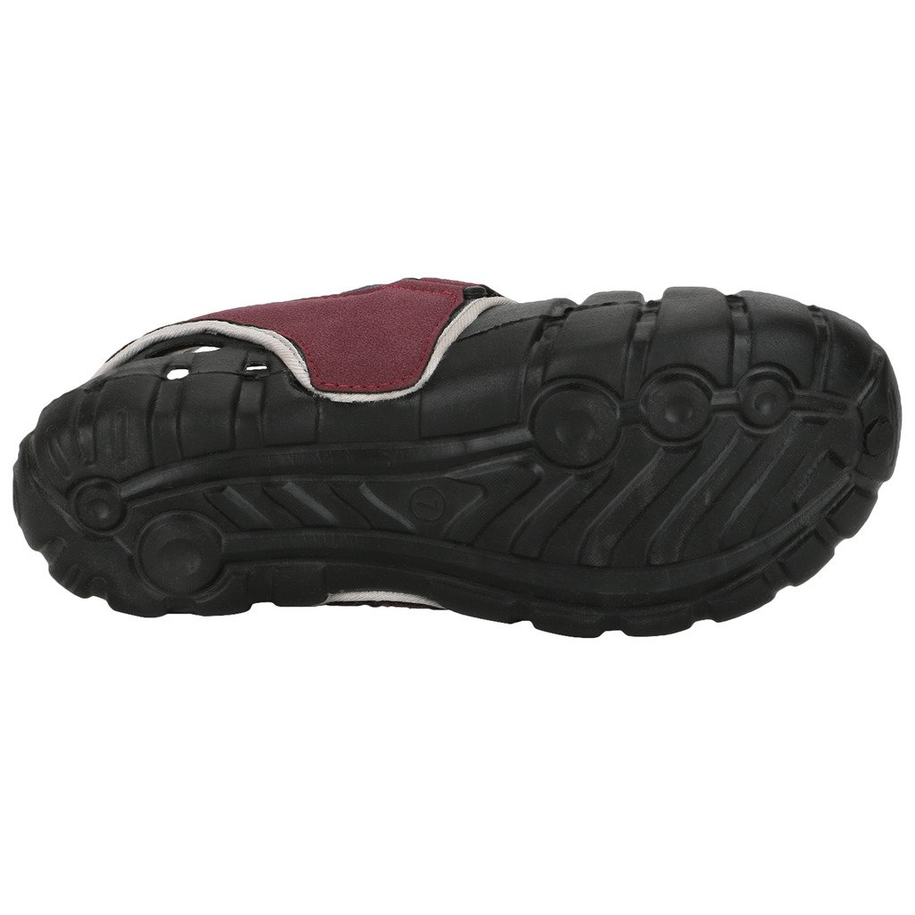 56a2cbc2ea29 Globalite Men Black   Grey Synthetic Sandals   Floaters 7 UK  Buy Online at Low  Prices in India - Amazon.in