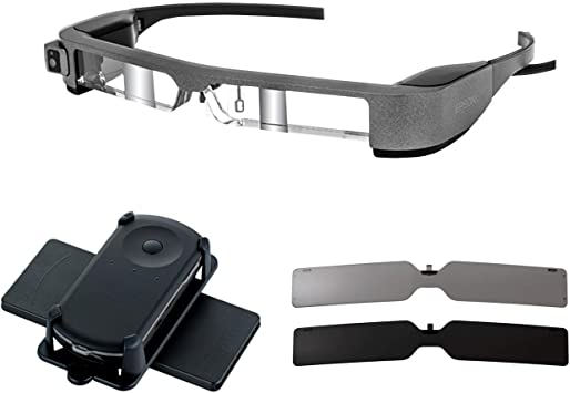 Renewed Epson Moverio BT-300Fpv Smart Glasses FPV//Drone Edition