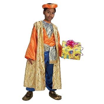 Disfraz de Rey Baltasar para niño: Amazon.es: Juguetes y juegos