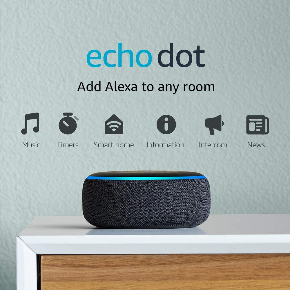 Echo Dot Speaker With Alexa