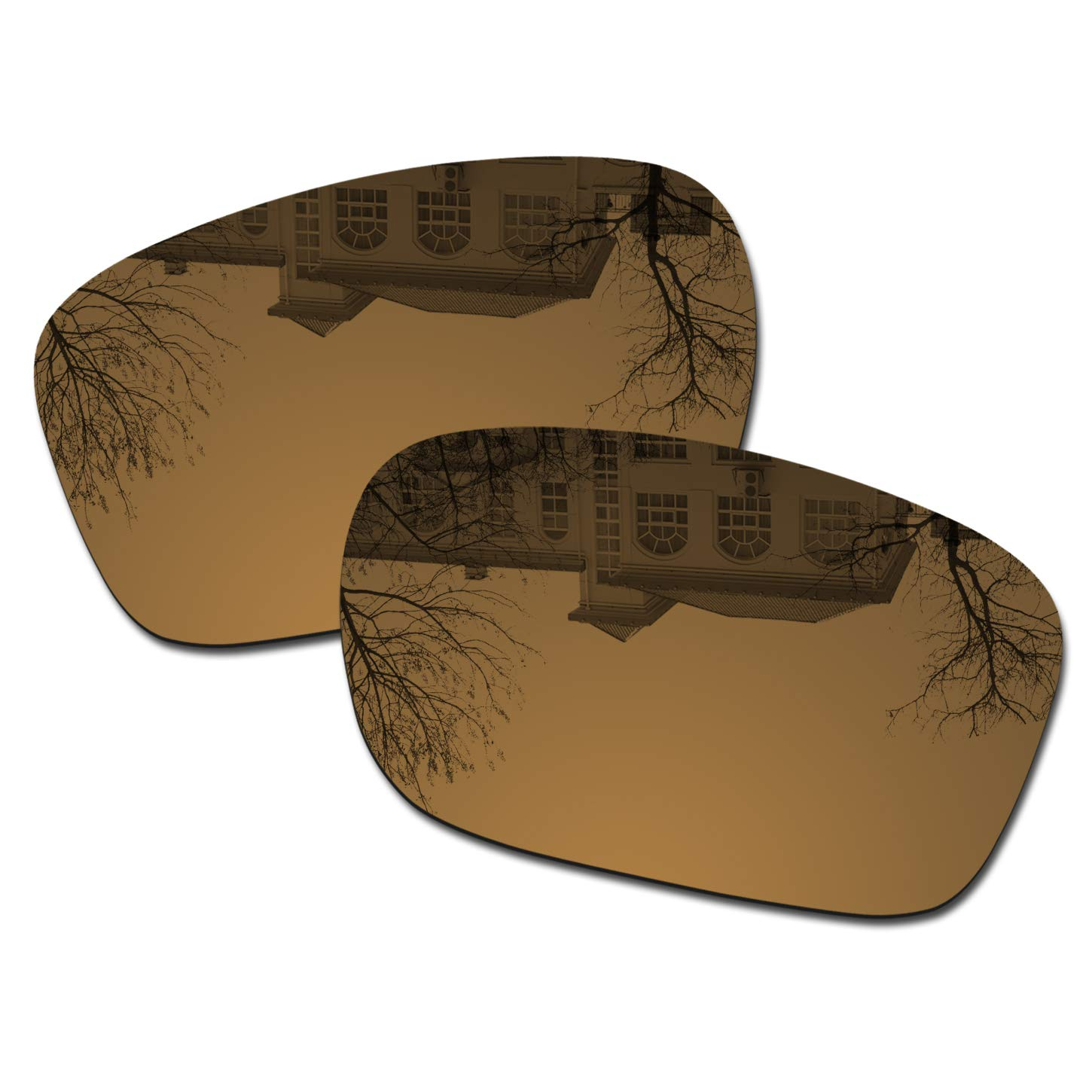 Millersawp Holbrook OO9102 Replacement Lenses Compatiable with Oakley Sunglass-Bronze Iridium by Millersawp