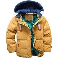 Odziezet Abrigo Invierno Bebés Niños Niñas de Plumas Abajo Chaqueta Nieve con Capucha Abrigos Ropa Caliente