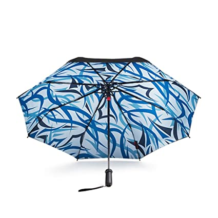 YUSANZXM GRJH® Inteligente acompañado por paraguas sombrilla paraguas doble capa doble paraguas paraguas anti-