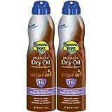 Banana Boat Sport Sunscreen Spray, SPF 30, Reef Safe, 6 ounces (Pack of 2)