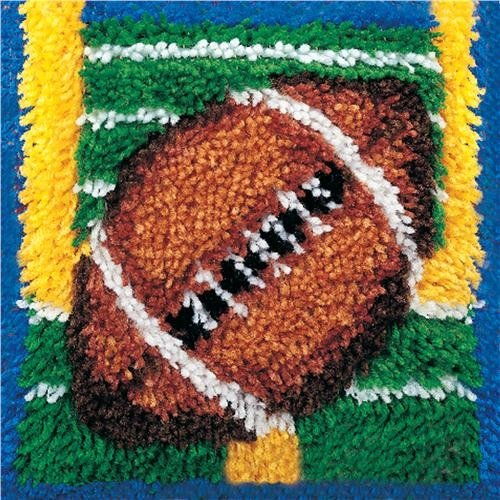 Caron Natura Latch-Hook Kit, Touchdown, 12