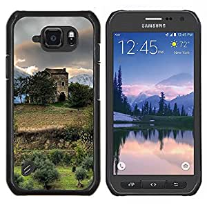 LECELL--Funda protectora / Cubierta / Piel For Samsung Galaxy S6Active Active G890A -- Sunset Beautiful Nature 59 --