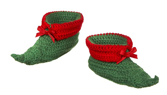 06b256d2f4850 Image Unavailable. Image not available for. Color  Ganz Elf Baby Booties