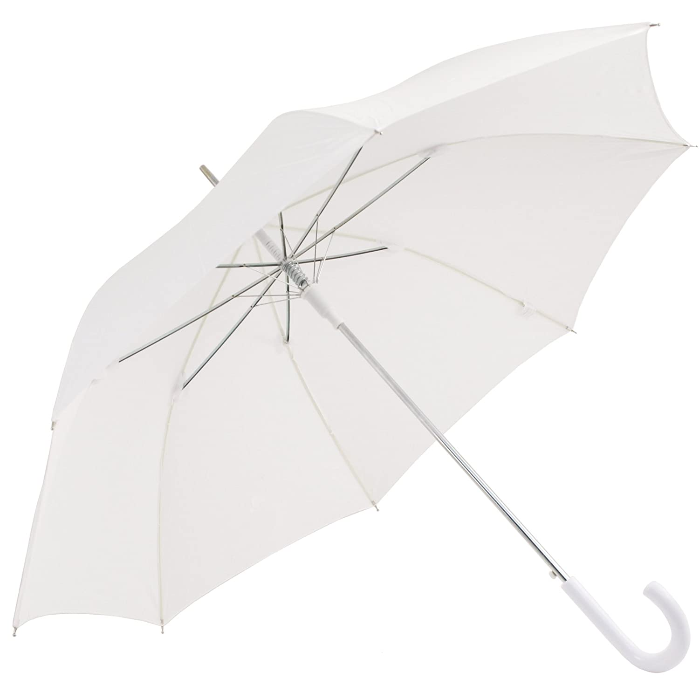 White Wedding Walker Umbrella