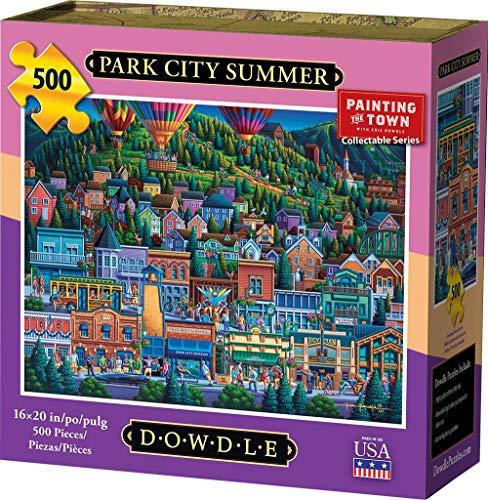 (Dowdle Jigsaw Puzzle - Park City Summer - 500)