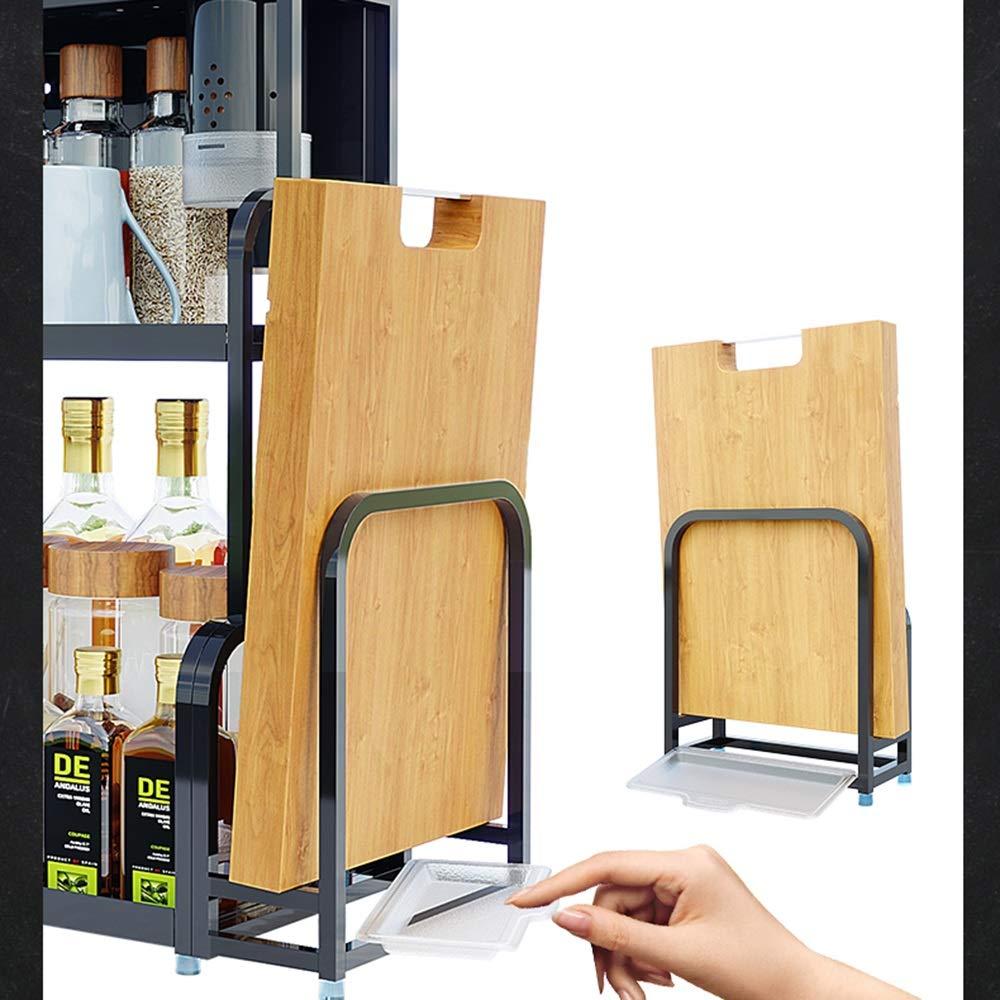 Kitchen shelf HUO Multi-Layer Wall Hanging Knife Holder Kitchen Storage Rack Multifunction (Color : Chopsticks, Size : 40CM) by Kitchen shelf (Image #3)